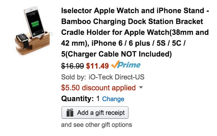 iselector-apple-watch-dock-deal