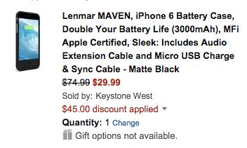 lenmar-iphone-6-case-deal