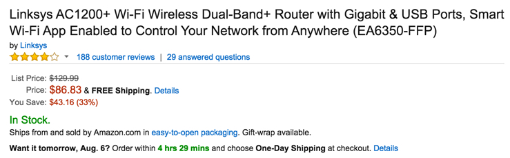 Linksys dual band router amazon