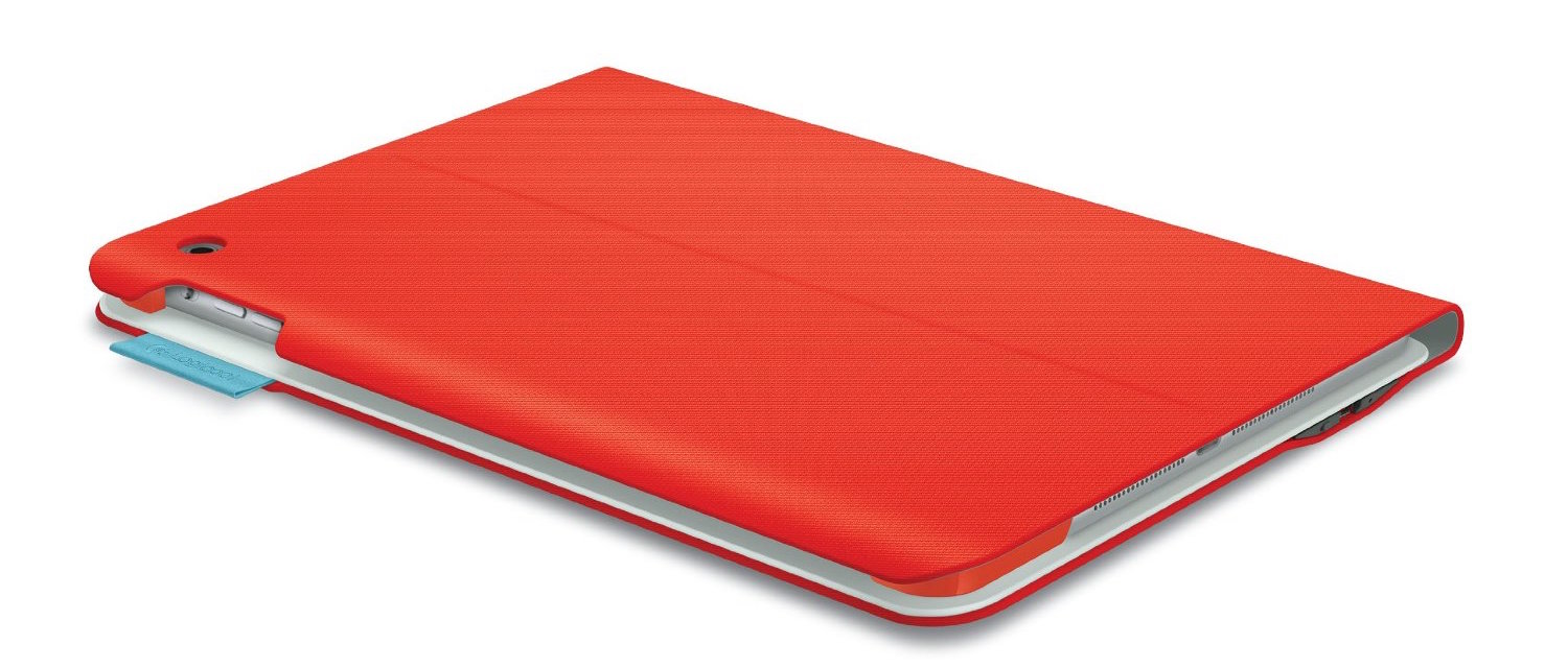 Logitech Type+ Keyboard Case for the iPad Air in Orange