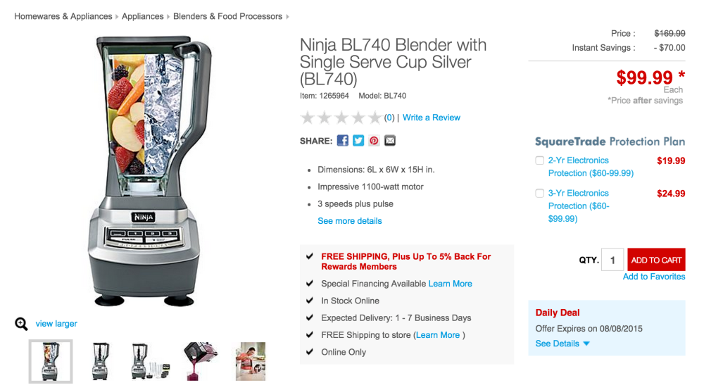 Ninja Blender with Single Serve Cup-sale-05