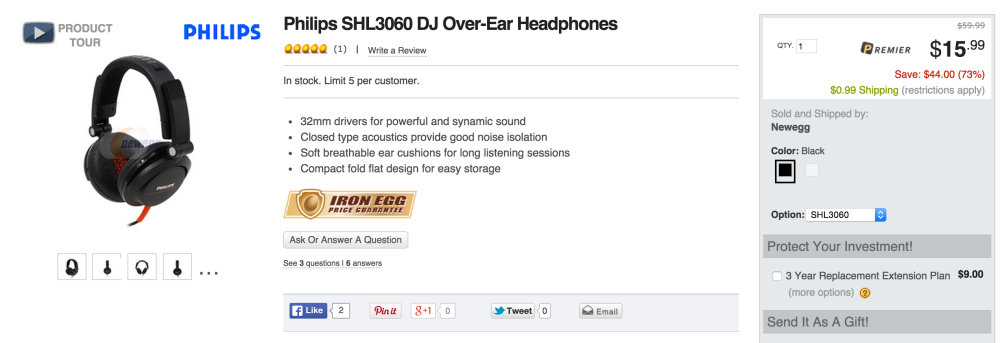 Philips SHL3060 DJ Over-Ear Headphones-sale-02