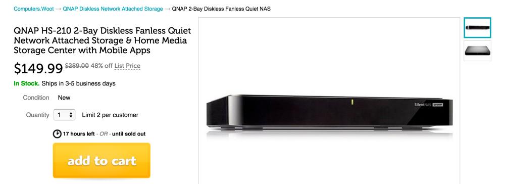 QNAP HS-210 2-bay Fanless Quiet NAS-sale-02