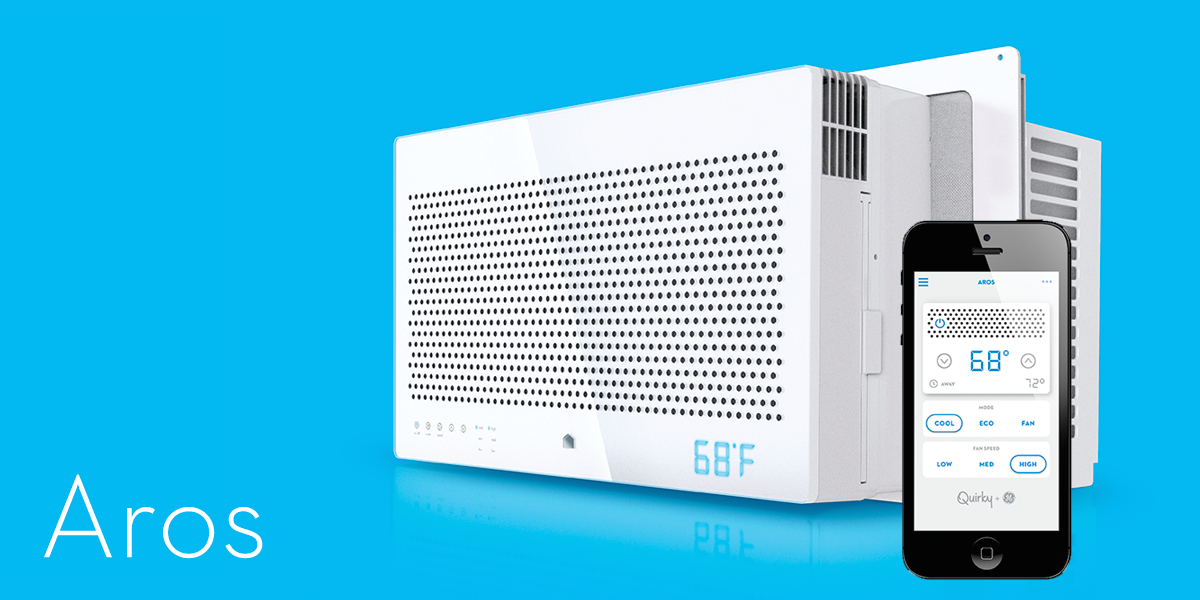Quirky Aros Smart Window Air Conditioner 149 Shipped