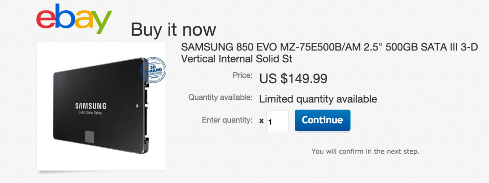 Samsung 850 EVO 500GB 2.5-inch Internal Solid-State Drive-sale-02