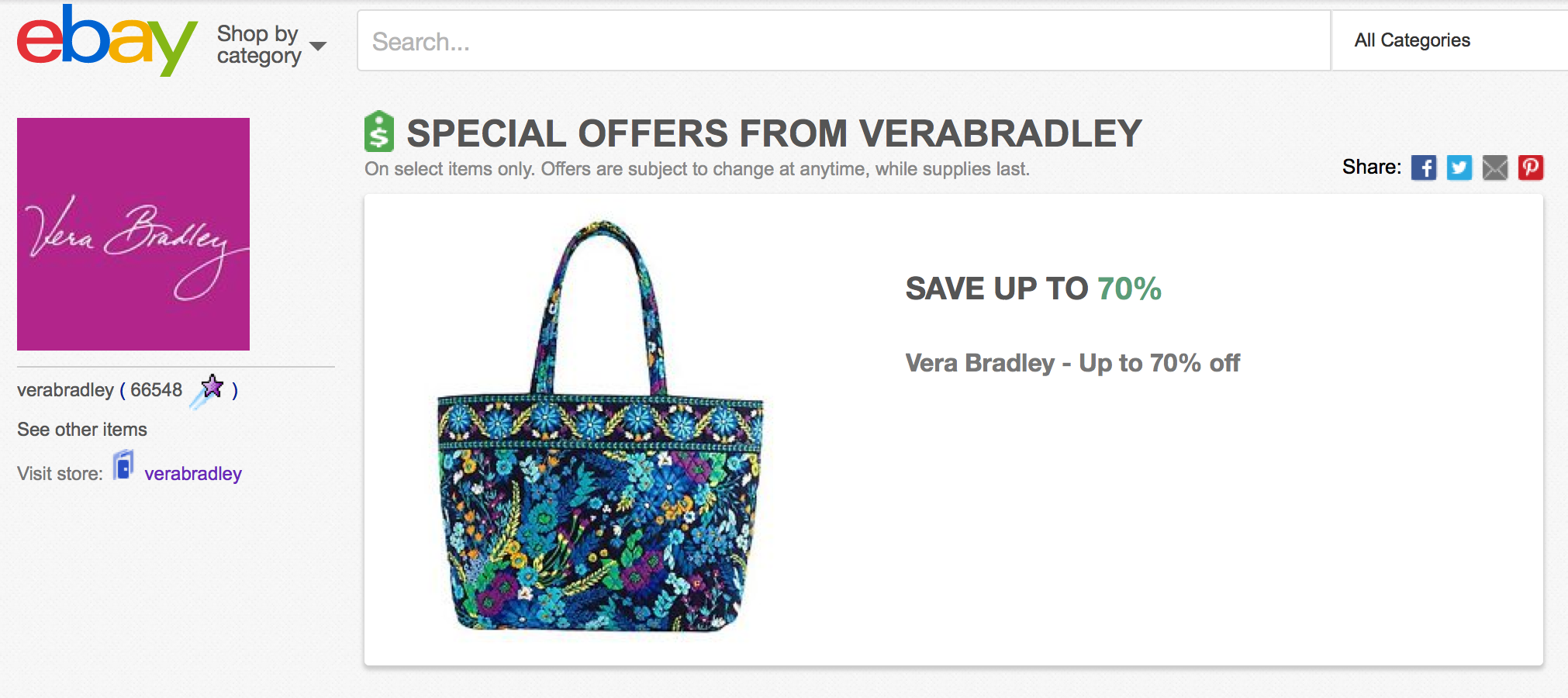 Here are some of our picks  Vera Bradley ... 0415d254d4c49