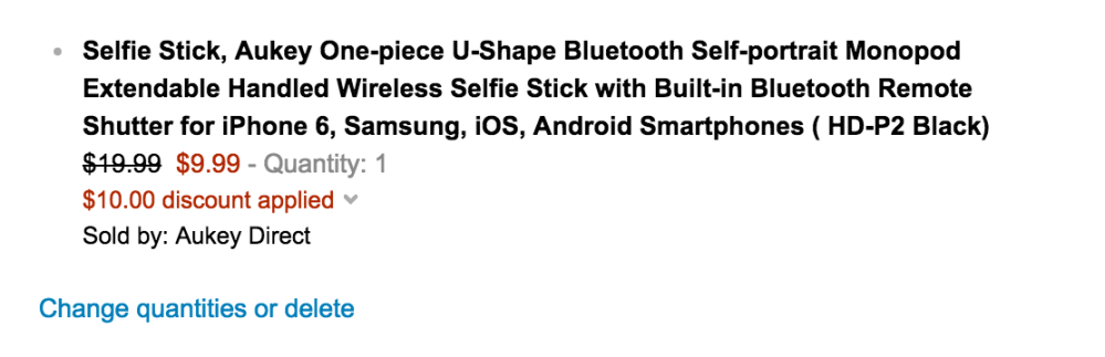 Selfie Stick with Built-in Bluetooth Remote Shutter for iPhone 60sale-02