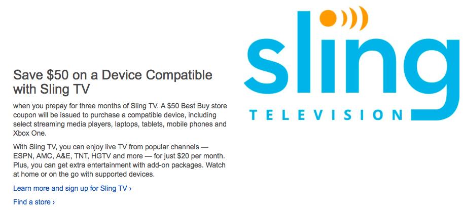 sling-tv-best-buy-credit-deal