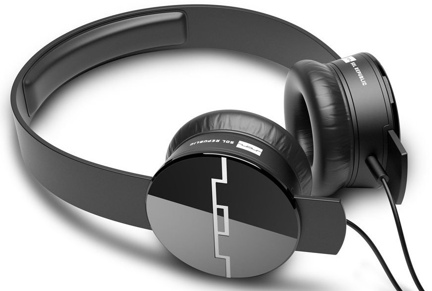 Sol Republic Tracks On-Ear Headphones V8 w: 3 Button Mic and Music Control