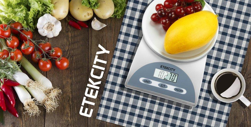 tekcity via Amazon-1lb:5kg Digital Kitchen Food Scale in silver-sale-01