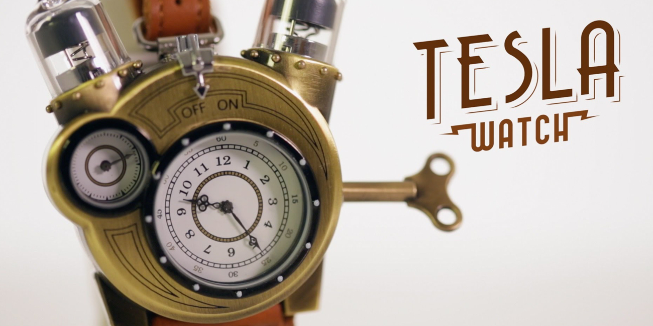 Tesla Watch ThinkGeek original