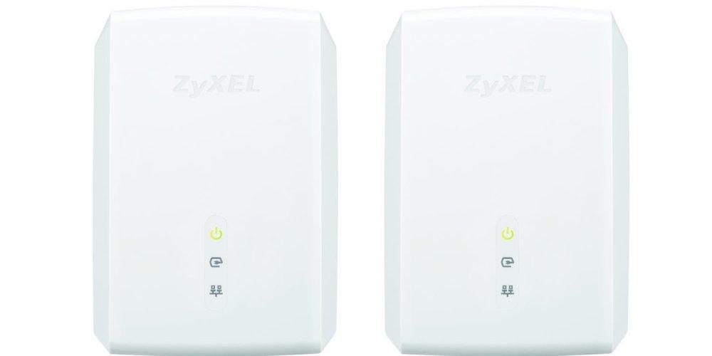 ZyXEL 1200 Mbps Powerline AV1200 Gigabit Adapter, Starter Kit - 2 Units (PLA5405KIT)-sale-01