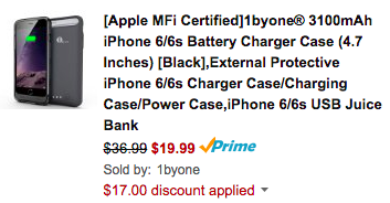 1byone-iphone-case-amazon-deal