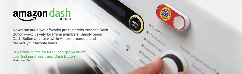 Amazon dash program