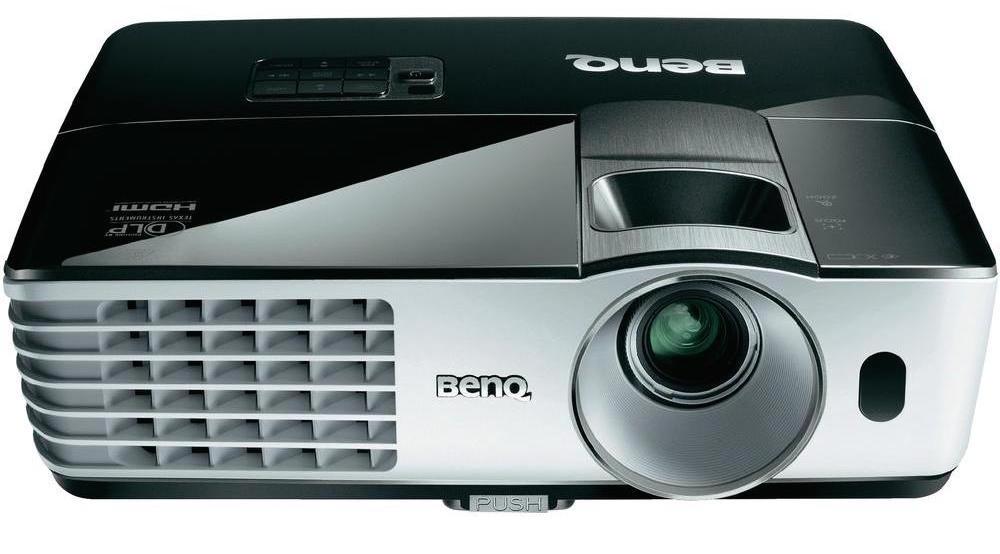 BenQ - DLP Projector - Black:Silver MH680