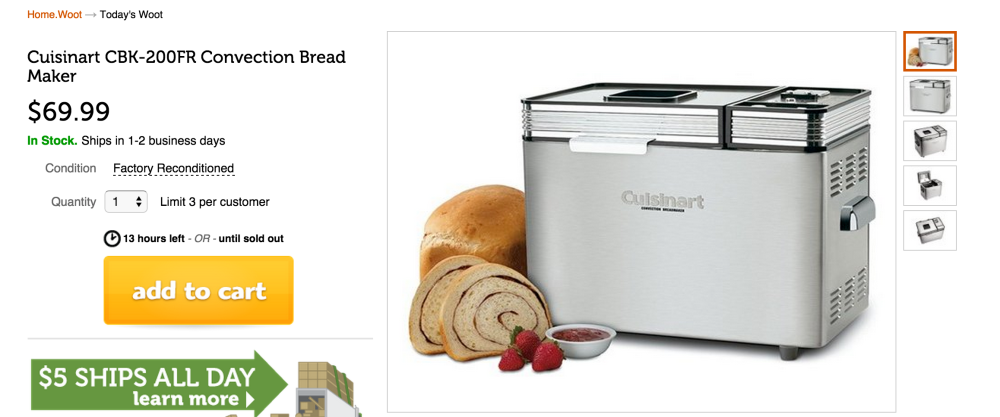 Cuisinart Convection Bread Maker-sale-03