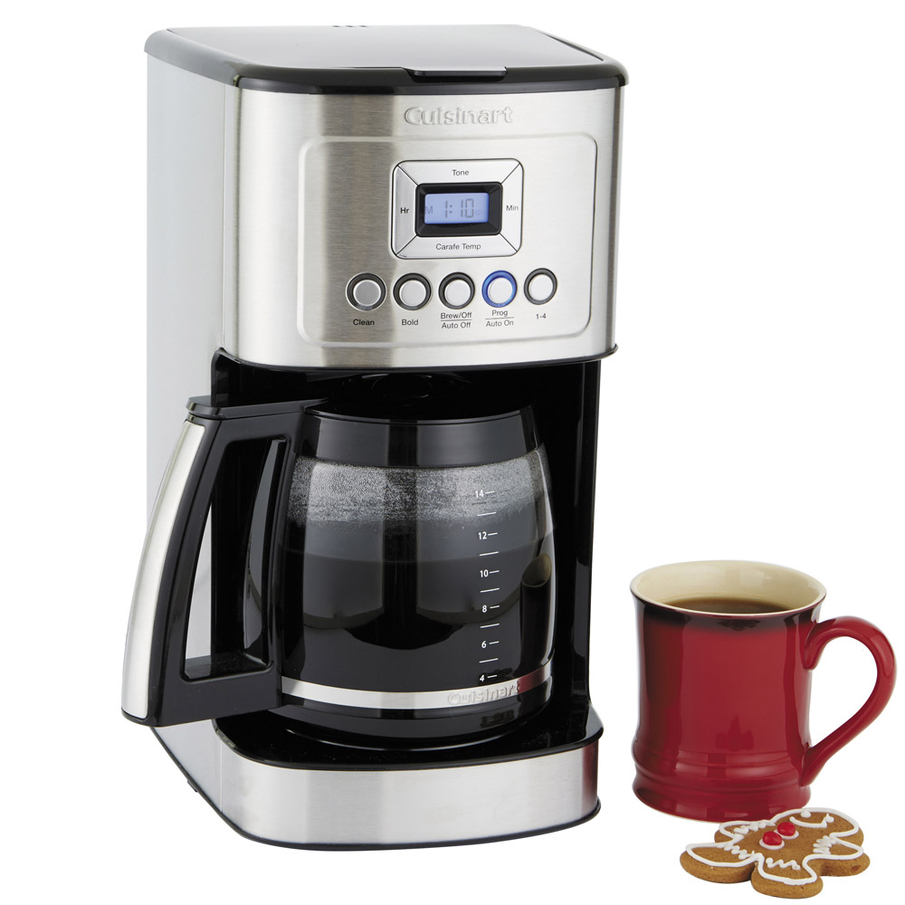 Cuisinart Perfect Temp 14-Cup Programmable Coffeemaker in Stainless Steel (DCC-3200)-sale-01