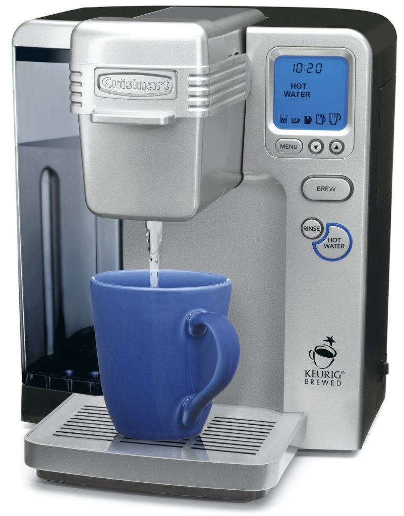 Cuisinart SS-700 Single Serve Keurig Brewing System (white:silver or black)-sale-02