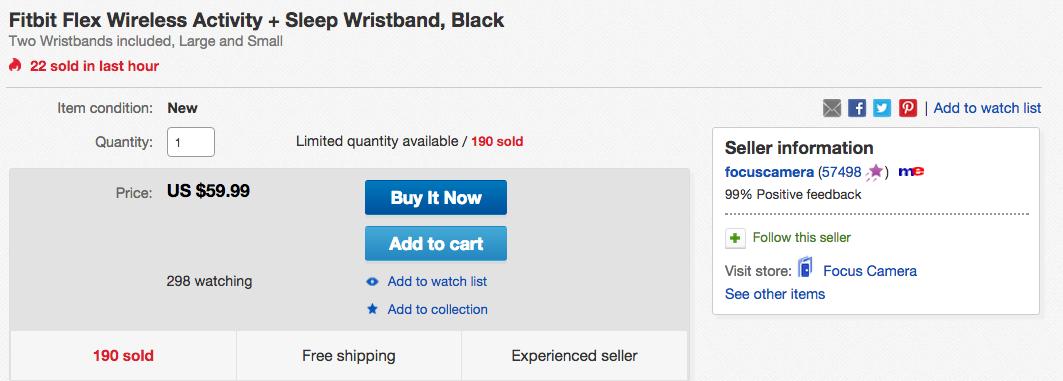 fitbit-flex-ebay-deal