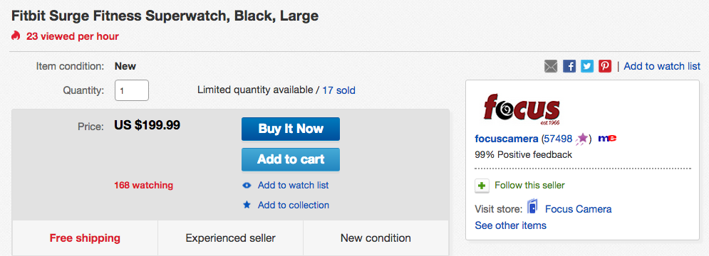 fitbit-surge-ebay-deal
