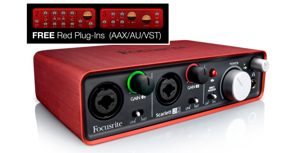 Focusrite Scarlett 2i2 USB Recording Audio Interface-sale-02