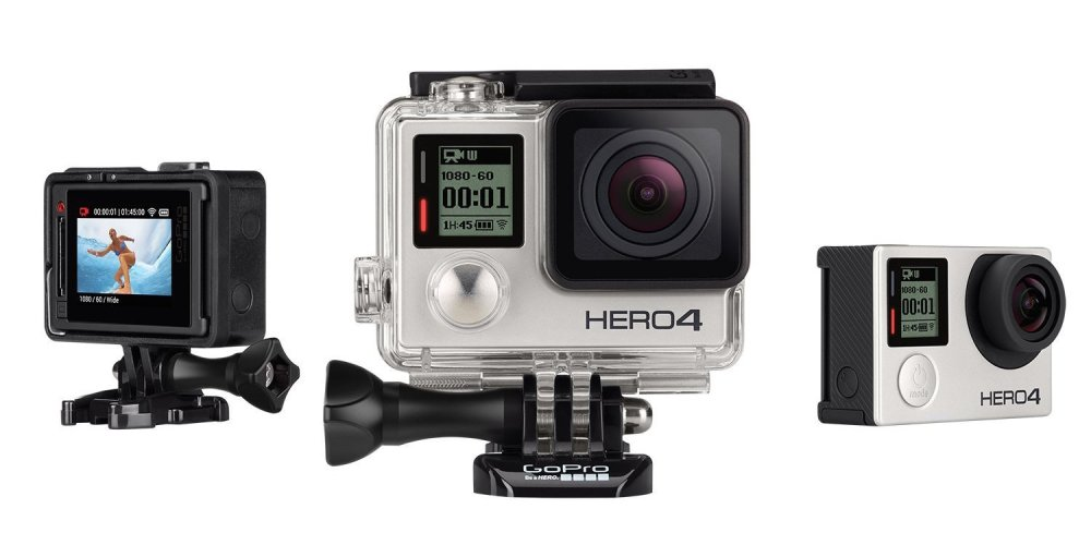 GoPro Hero 4 Silver Edition Action Cam-sale-01