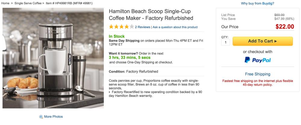 Hamilton Beach Scoop Single-Cup Coffee Maker-sale-02