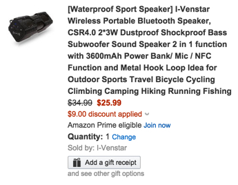 I-Venstar Wireless Portable Bluetooth Speakers