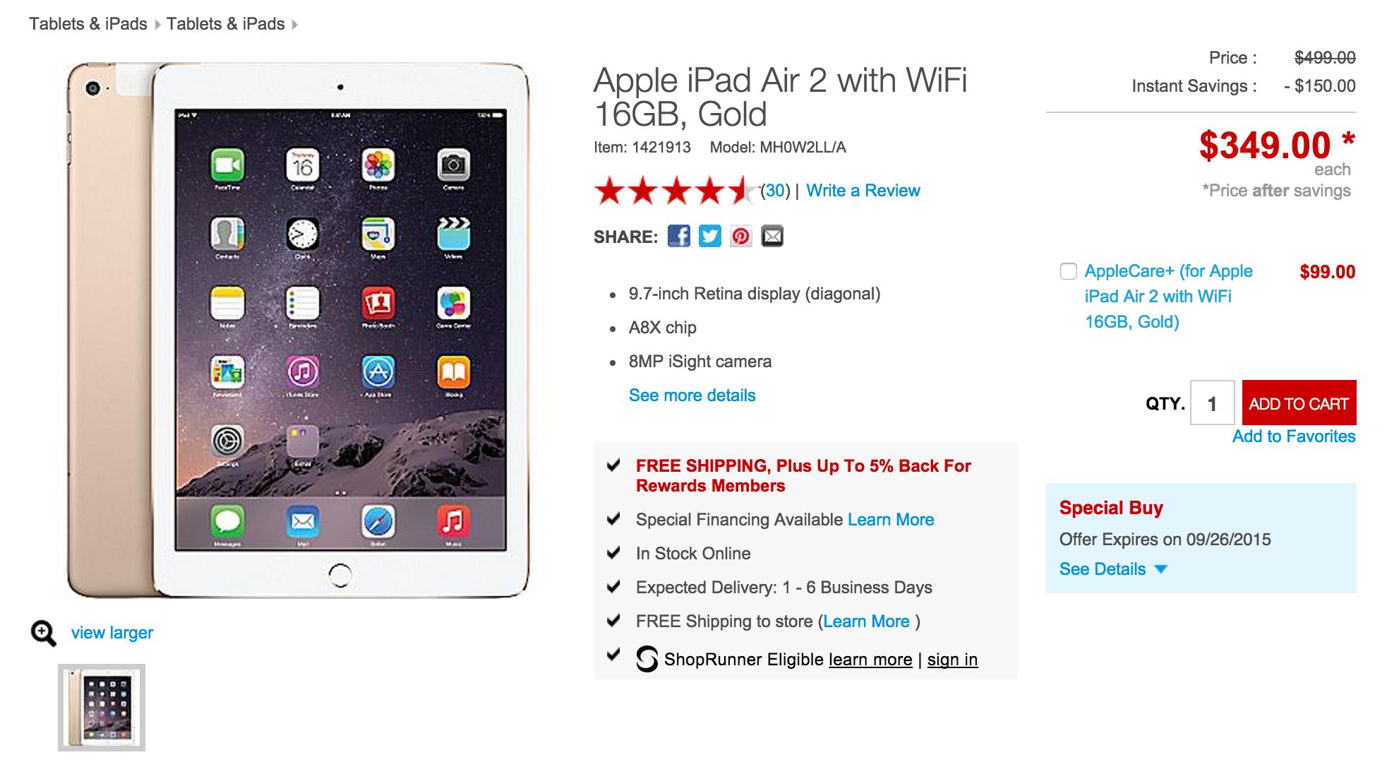 Best ipad air 64gb deals