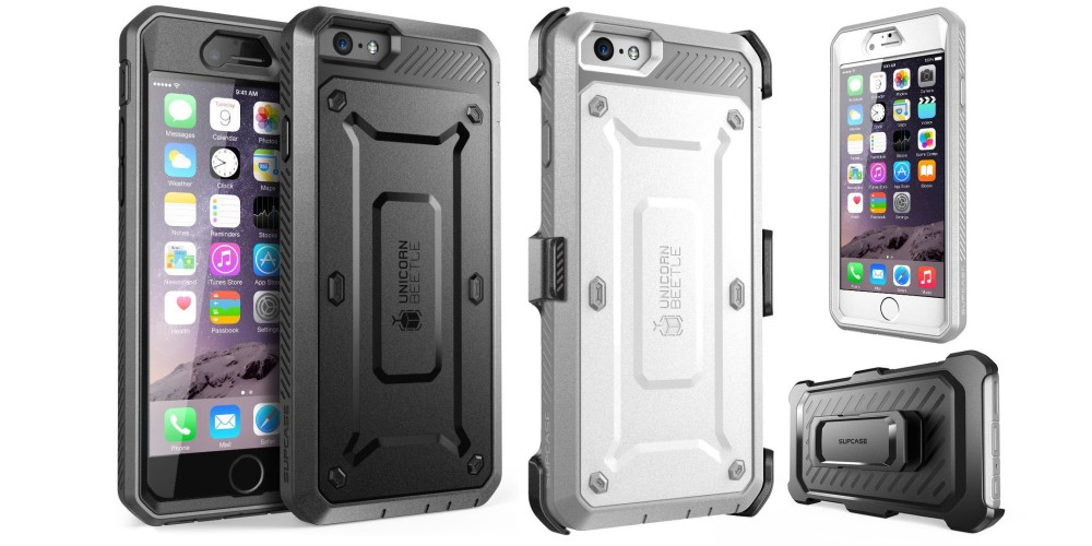 iPhone 6 Supcase Rugged Holster Cover with Built-in Screen Protector-sale-04