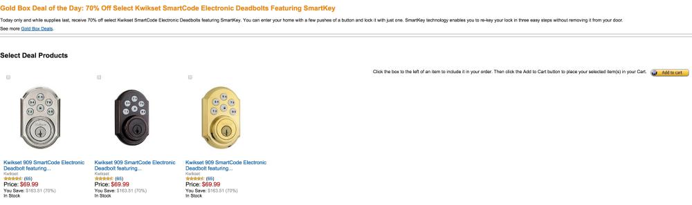 Kwikset 909 SmartCode Electronic Deadbolt-sale-02
