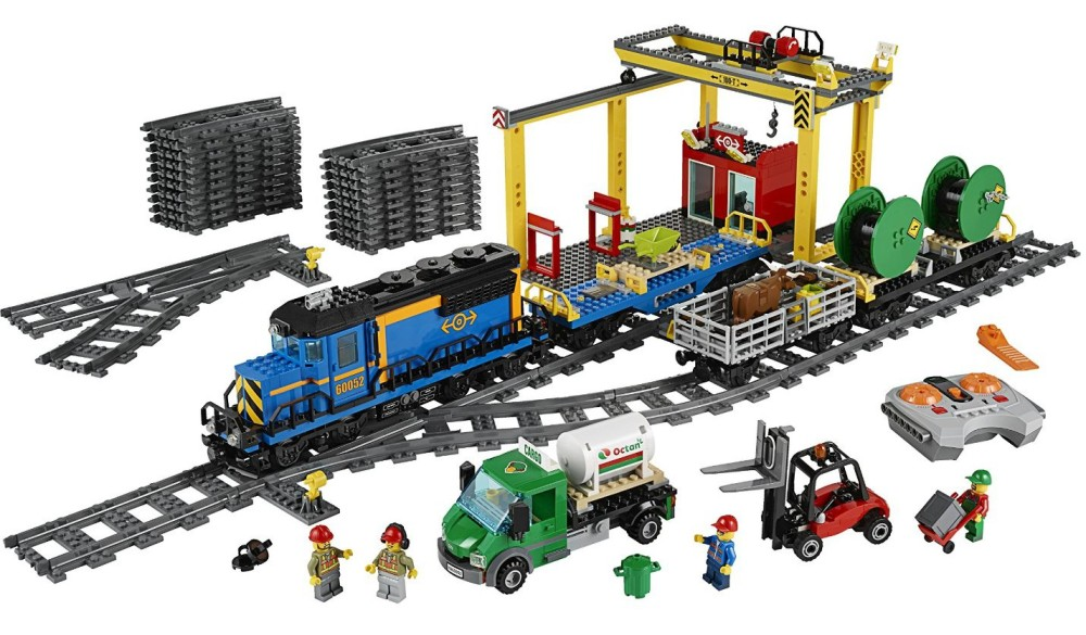 LEGO City Trains Cargo Train 60052 Building