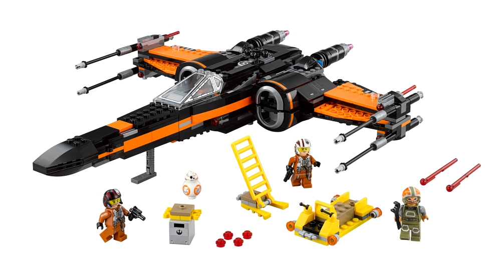 LEGO-Poe's X-Wing Fighter-01
