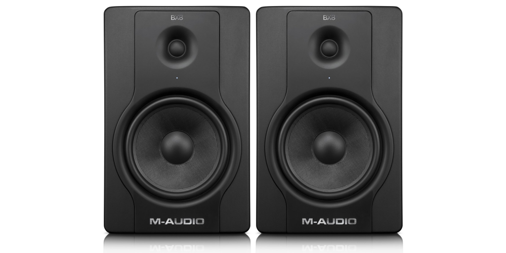 M-Audio BX8 D2 130W 8%22 Two-Way Active Studio Monitors (pair)-sale-03