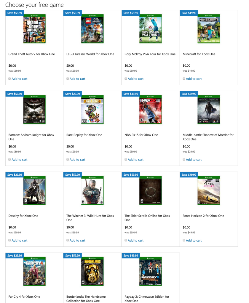 Microsoft-Xbox One-Labor Day-sale-04