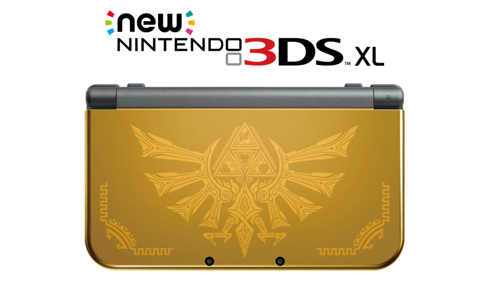 Nintendo New 3DS XL - Hyrule Gold Edition-02