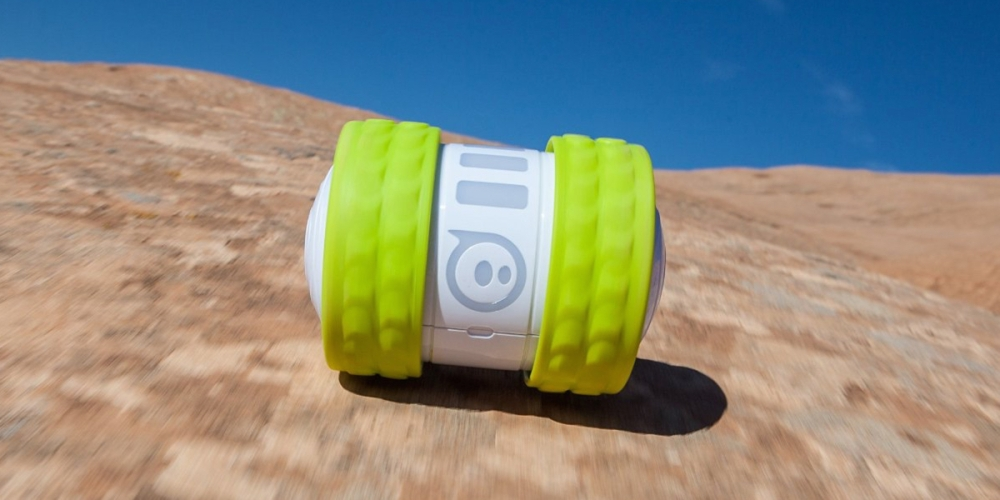 Ollie for Android and iOS App Controlled Robot - Cyber Green Ultra Tires