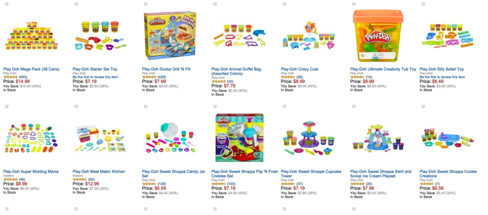 Play-Doh Toys up to 40% off