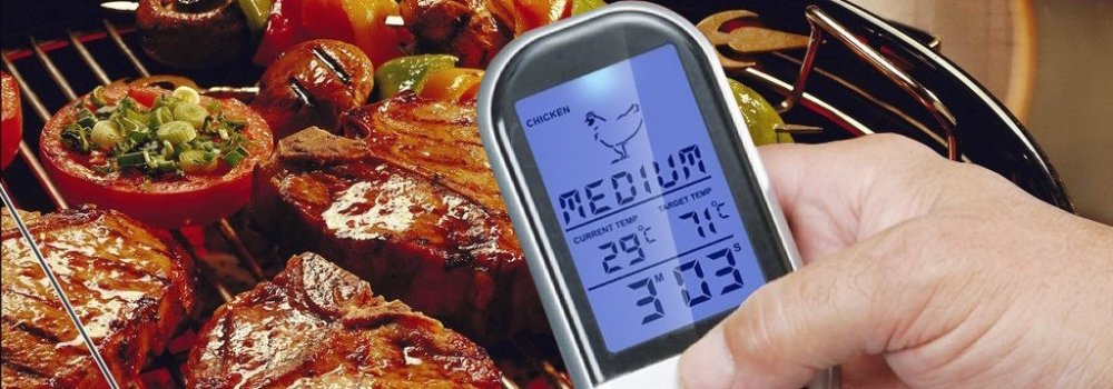 Raniaco Remote Wireless BBQ Meat Thermometer-sale-01