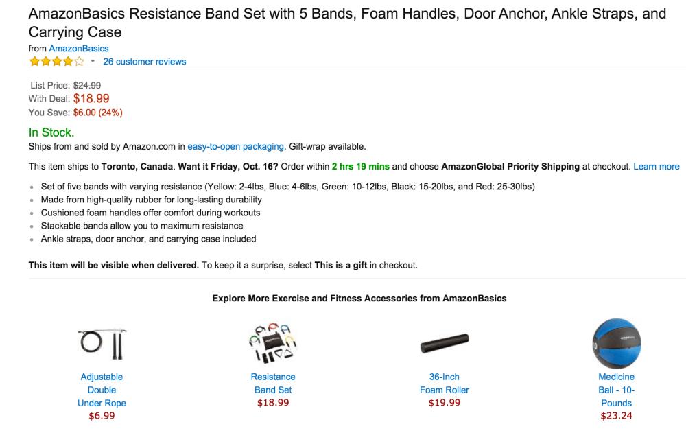 AmazonBasics Resistance Band Set-sale-02