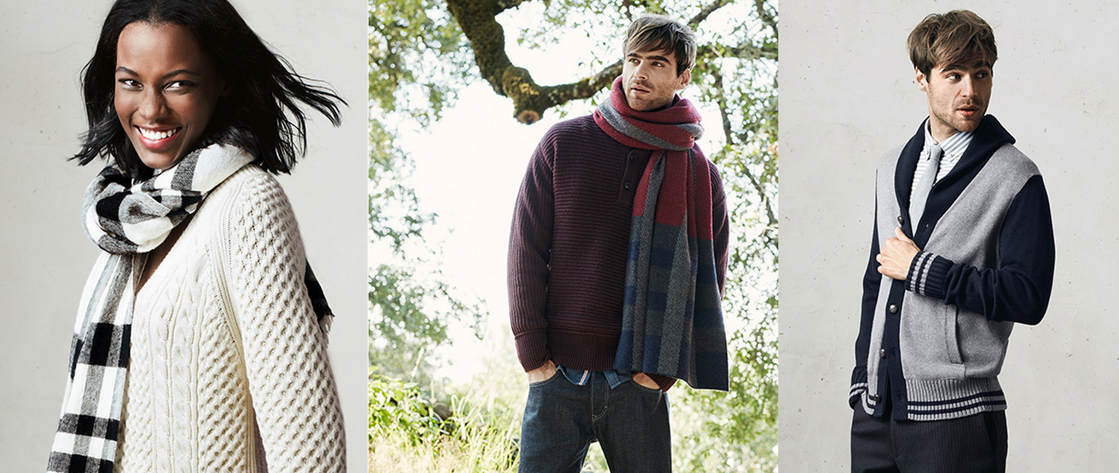 Banana Republic Factory preps you for cool weather w/ 40% off all outerwear & sweaters