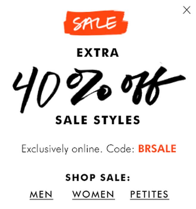 06200443f Fashion: Save up to 40% at Banana Republic, Gap, Old Navy ...