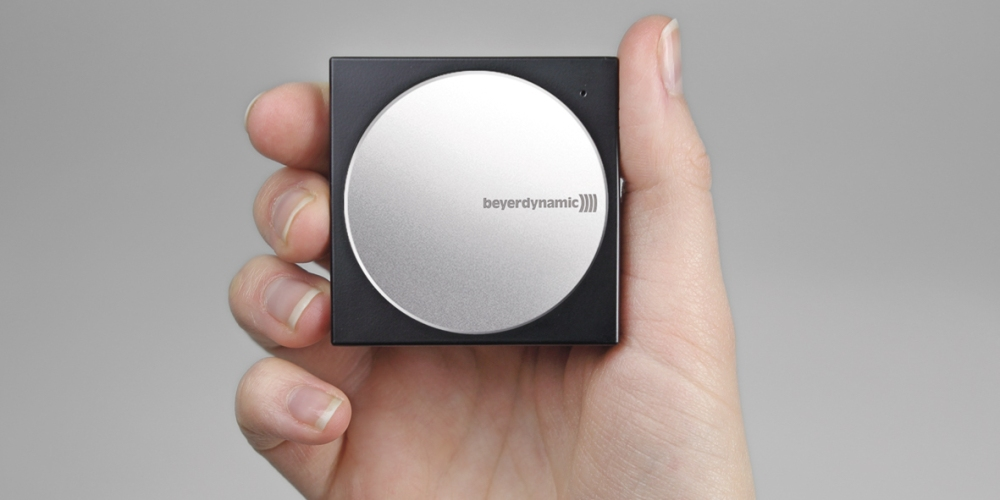 Beyerdynamic A200p Portable Mobile DAC Headphone Amp for iPhone and Android Phones in Black:Silver-sale-01
