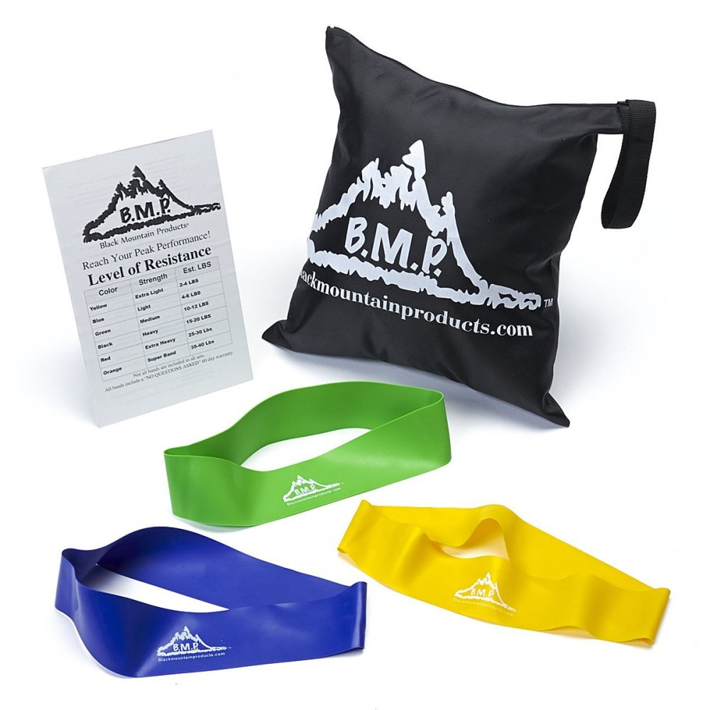 Black Mountain Products Resistance Loop Bands Set and Carrying Bag-sale-01