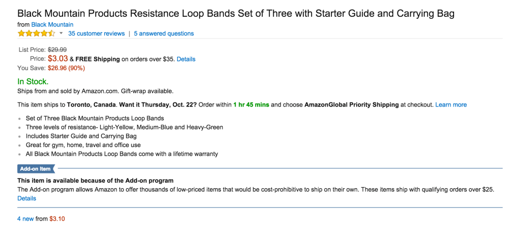 Black Mountain Products Resistance Loop Bands Set with Carrying Bag-sale-02