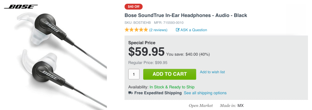 Bose SoundTrue in-ear headphones-sale-03