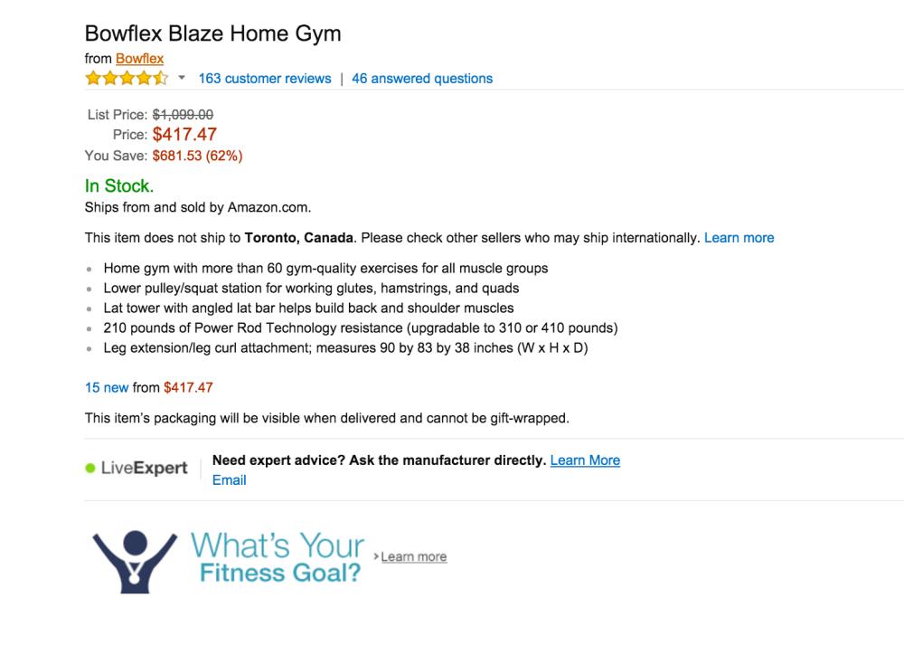 Bowflex Blaze Home Gym-sale-02