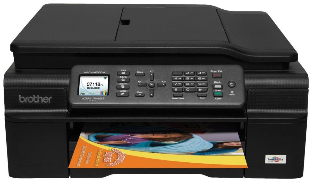 Brother Wireless Inkjet (MFC-J475DW) All-in-One Printer