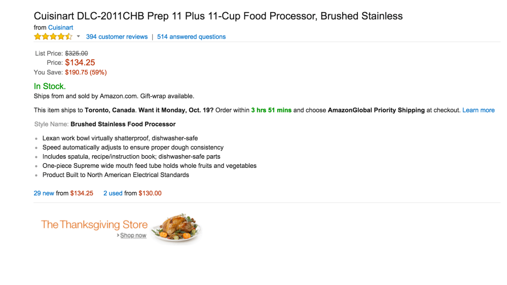 brushed stainless Cuisinart Prep 11-Cup Food Processor (DLC-2011CHB)-sale-04