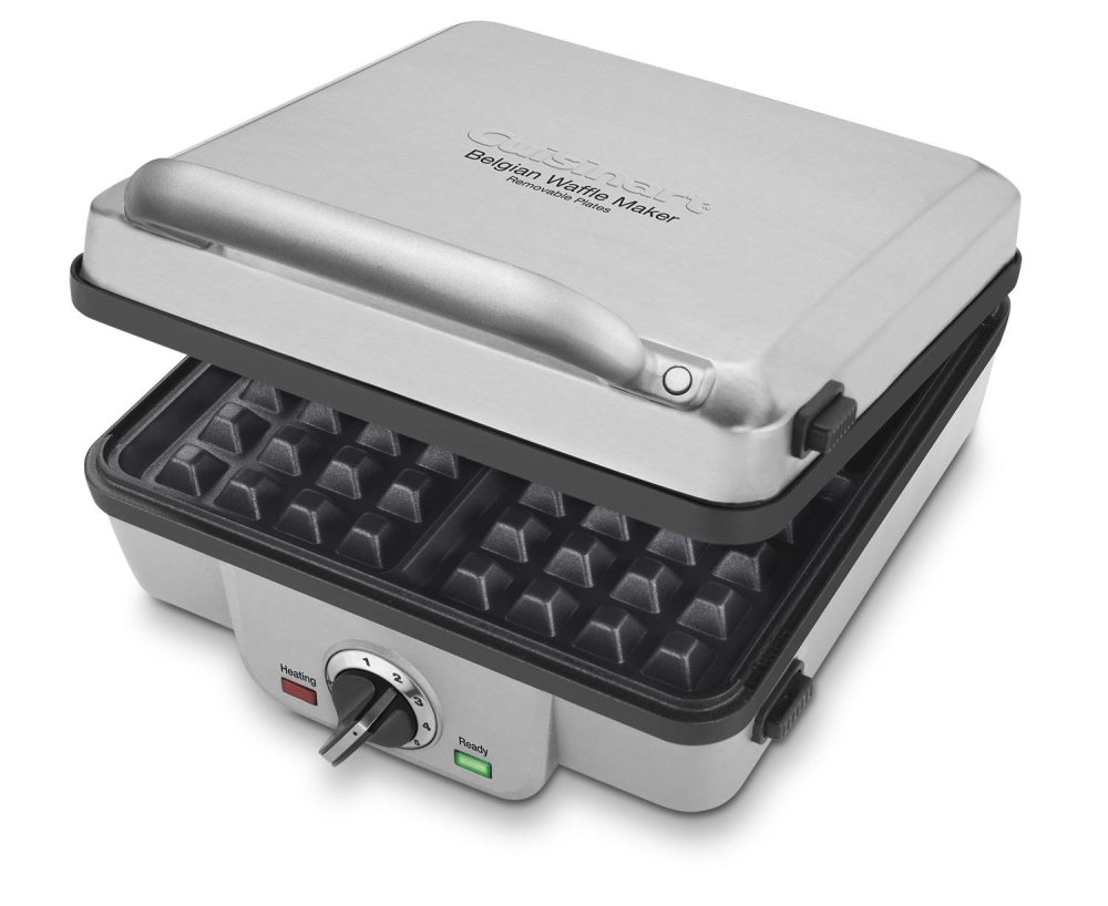 Cuisinart Belgian Waffle Maker with Pancake Plates (WAF-300)-sale-01
